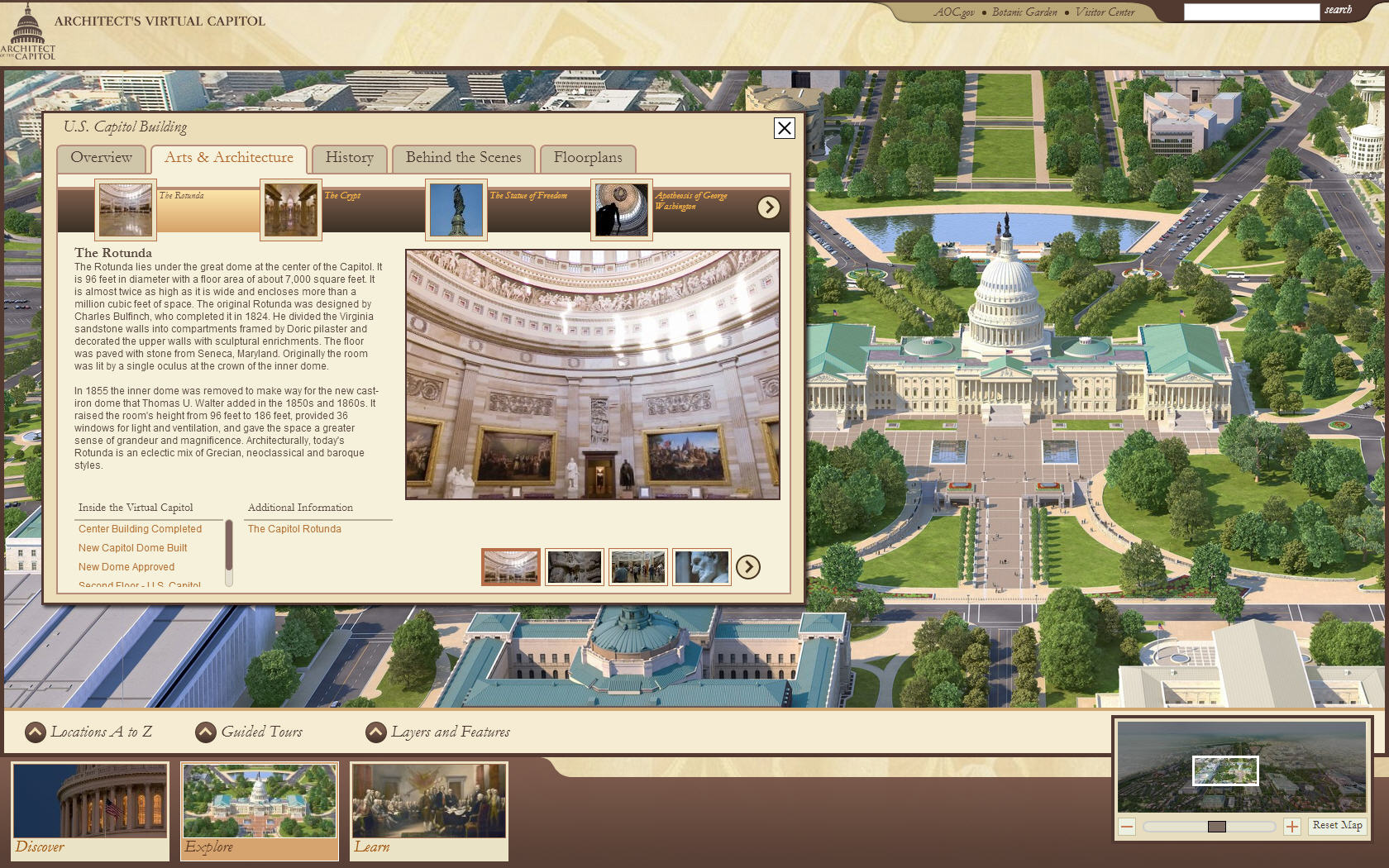 Architect of the U.S. Capitol - Virtual Tour