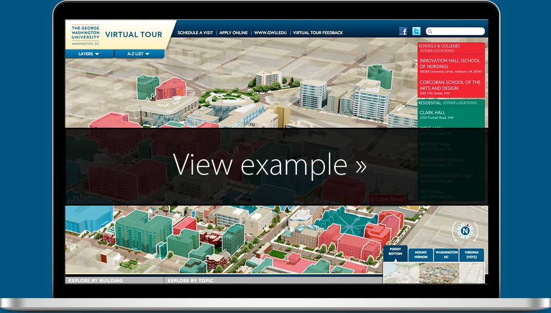 George Washington University Virtual Tour and Visitor Guide ...